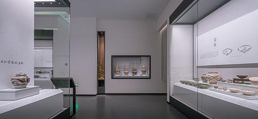 博物馆展厅设计案例的展陈设计效果图
