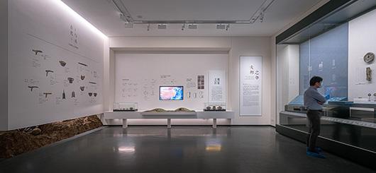 博物馆展厅设计案例的展陈设计效果图6