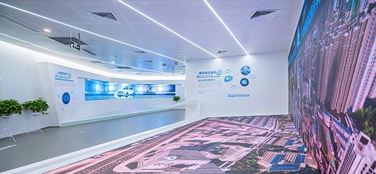 大数据展厅设计方案之展示区域设计效果图