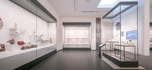 博物馆展厅设计案例的设计效果图