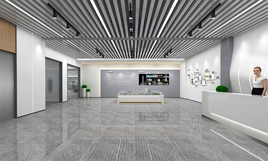 室内展厅设计效果图之展示设计效果图