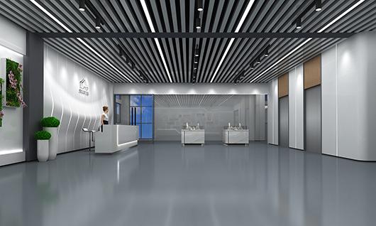 室内展厅设计效果图之展示区设计效果图