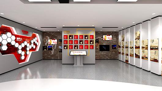 党建文化墙设计方案之展示内容设计效果图