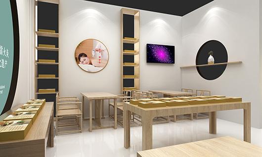 非物质文化遗产展览馆设计方案之展示区设计效果图
