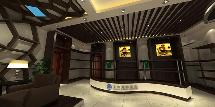 上海青杉企业展厅设计案例4