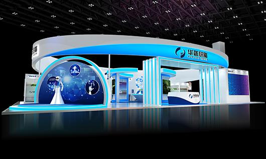 上海展览设计公司设计的效果图